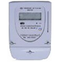 DDSIY22 Single Phase Power Line Carrier Prepayment Electronic Meter