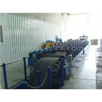 Cable bridge frame machine