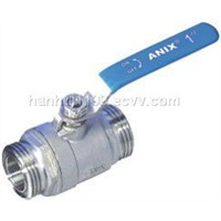 2pc male ball valve