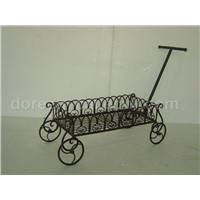 HAND PUSH FLOWER CART