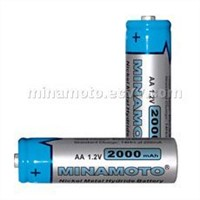 Minamoto Low self discharge NiMH battery