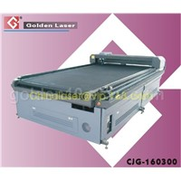 CJG-160300 laser cutting bed for larger scale