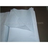 nonwoven bedsheet and pillowcase