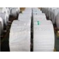 Chromium coated steel strip