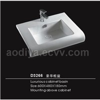 Luxurious Cabinet Basin