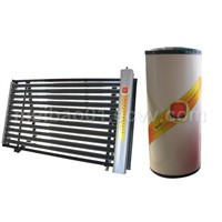 solar water heater with vacuum tube collector