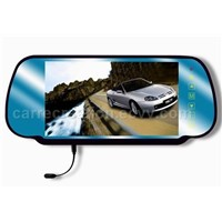 7' car rearview TFT LCD monitor with bluetooth