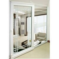 Inward and top sliding door