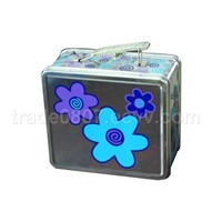 Tin Lunch Box, Coaster, Tray, Lunch Box, Tin Box with Handle, Tin with Window, Candle Tin,