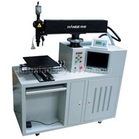 Series laser cutting and welding machine