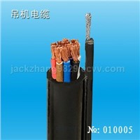 Crane electric cable