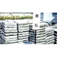 Border/edging garden stone decorative pebbles stepping stone