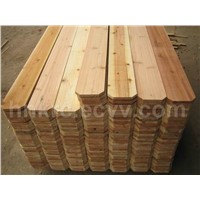Chinese Cedar Fence Picket
