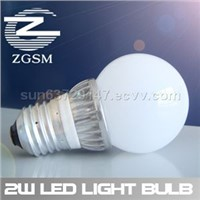 2w 5w 7w Led Light Bulbs