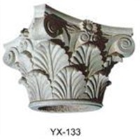 Interior column capital,Corinthian Column capital