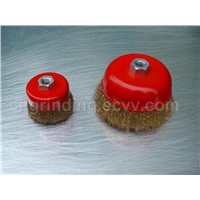 Bowl Brush-Crimped Wire (003)