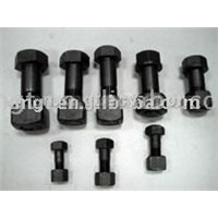 Bolt nut for track link