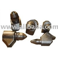 Conical Bits & Holder For Drill Auger