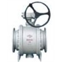 API Stainless Steel Trunnion-mounted Ball Valve