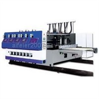 die-cutter, slotter, screener, and printer for corrugated box