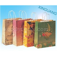 Paper Bag, Gift Bags,Boxes,Cmyk,4c Color Print,Christmas