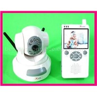 Real Color LCD Baby Monitor Security Camera 601KLD