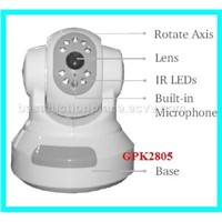 Internet IP Camera Pan Tilt Remote Control GDK2805