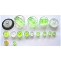 spirit level vial plastic circular level vial