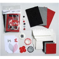 Eco-friendly greeting card kit