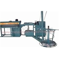 Semi-automatic Diamond Wire Mesh (Chain Link Fence) Machine