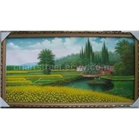 Landscape Oil Painting,Canvas Art,