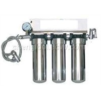 under sink stainless steel water filter housing