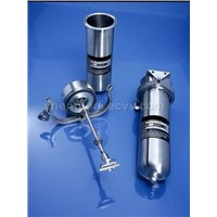 stainless steel water filter housing