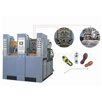 Vertical Multi-colour Thermoplastic Molding Machine