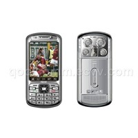 Quad Band Dual SIM TV FM CellPhone (Qool T666)