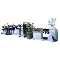 PP/PE/ABS/PMMA/PC/PS/PVC Plastic Plate (Sheet) Extrusion Line