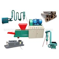 charcoal press briquette,biomass briquette machine, ecological briquette machine, extruder