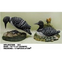 resin animal statue of duck
