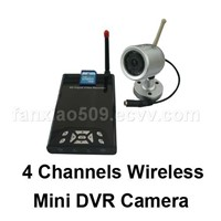4 channel wireless DVR
