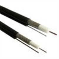 Coaxial Cable(RG6 with Messenger)