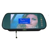 "7"" Car Rearview Mirror with bluetooth connectivity"