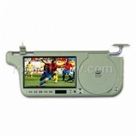"7"" Car Sun Visor LCD Monitor with DVD Player"