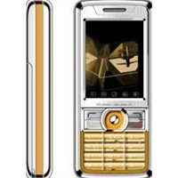 Mobile Phone with Two Sim Card (HB-7188, Orange)