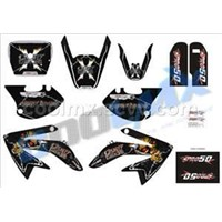 PRO 50'S pit bike dirt bike decals,graphics