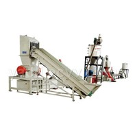 PE,PP film washing&cleaning, recycling ,granulating line (capacity 200-500kg/h)