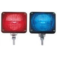 Car front strobe light
