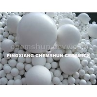 23~30% Al2O3 Inert Ceramic Balls As Catayst Support/Covering