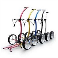 SMART Elegant lady golf pull trolley- Anodised Colors
