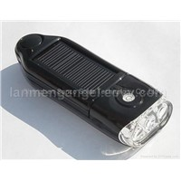 solar charger& torch