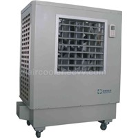 mobile evaporative air cooler
